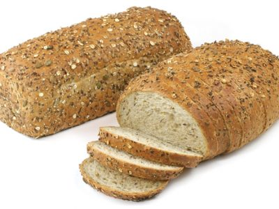 Sliced Multigrain for top image above rounded bread